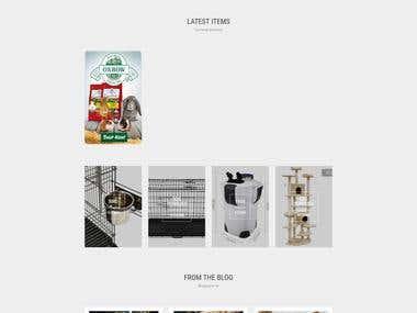 Pet E-commerce Website