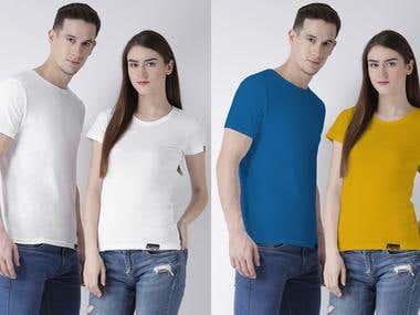 Changing Colors for Apparels