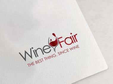 Logo design for a wine and culinary event