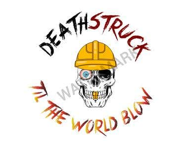 Death stuck logo concept