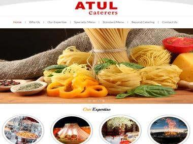 Atul Caterers Website