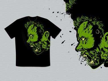 T-shirt design 333