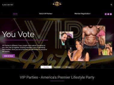 WORDPRESS (VIP Parties)