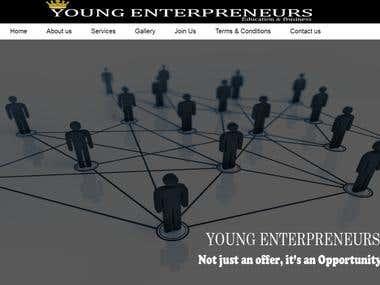 Young Enterpreneurs Website
