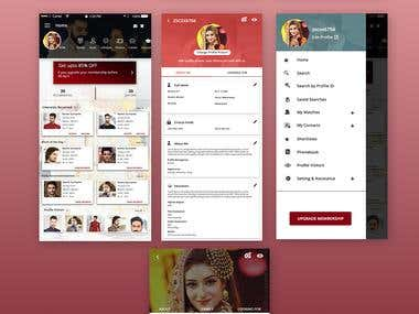 Matrimonial Android Application