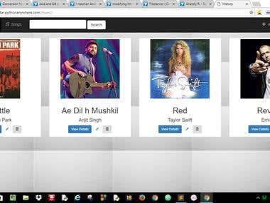 Melody - A Django website