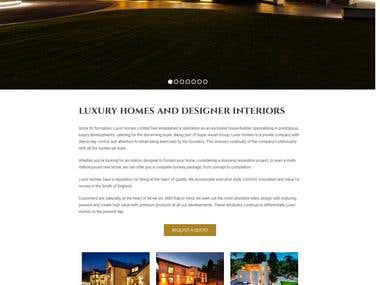 Wordpress Design & Development | Luxor Homes