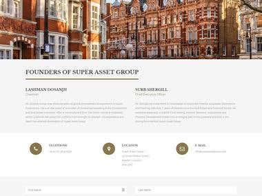 Web Design & Word Press Development | SuperAssetGroup