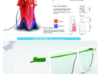 Bag and Eye wear Design