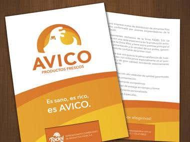 Avico - Imagen Corporativa by Paula Vazquez DCV