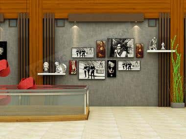 Architectural 3D Rendering (Interiors)