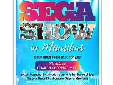 Flyer Sega Show