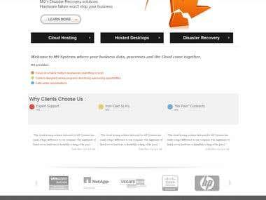 Responsive Wordpress Blogsite