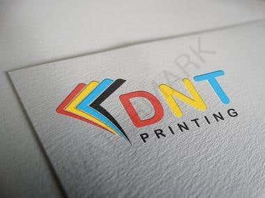 D.N.T. PRINTING LOGO DESIGN