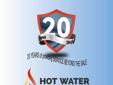 Logo 20 Anos