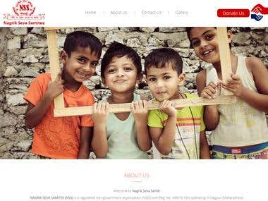 Nagrik Seva Samitee Website
