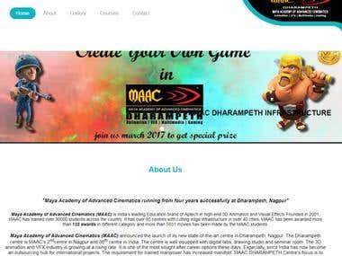 Maac Dharampeth Website