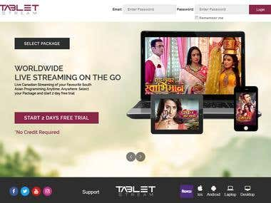 Tabletstream will be providing services similar to Netflix,