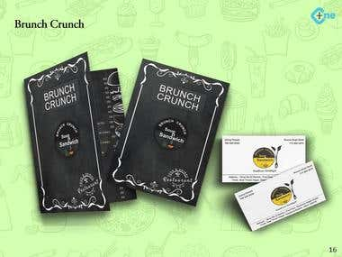 Brunch Crunch Soup and Sandwich