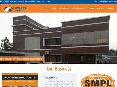 Kothari Group Website