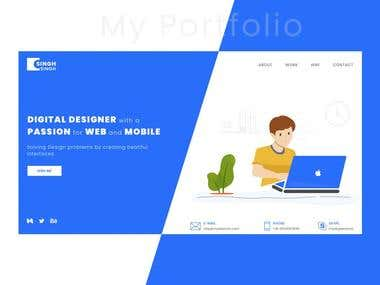 My Personal Website Design