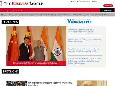 The business league Website