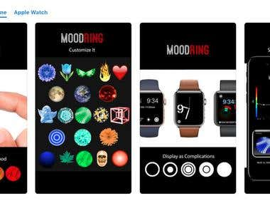 MoodRing for iPhone and iWatch