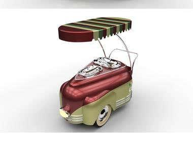 3D Cart Design