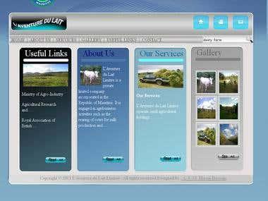 Static web site