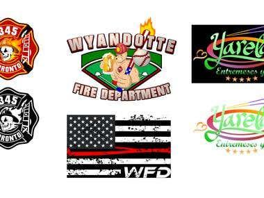 My freelancer winning logos.