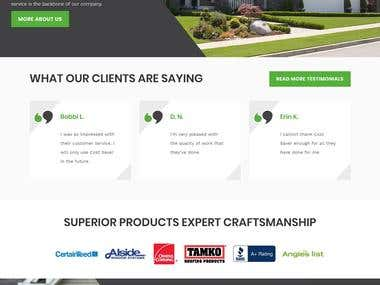 Construction projects website