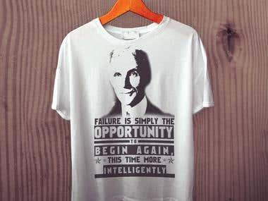 Henry Ford Tshirt