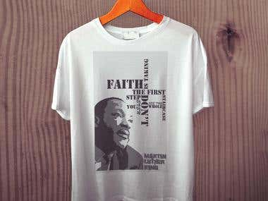 Martin Luther Tshirt