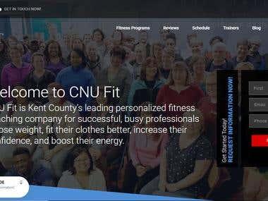 Gym website US Base