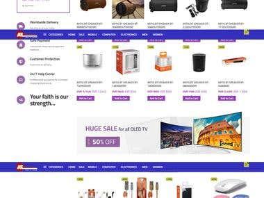 E commerce web