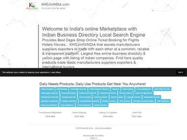 Search Engine Web APP