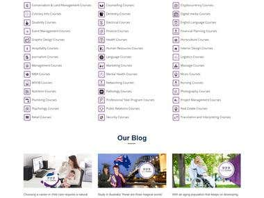 wordpress Education Listing Portal