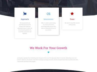 CPA Network Website Design
