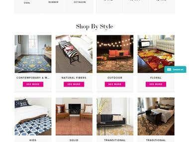 Home decor E commerce Portal