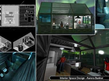 ARCHITECTURAL DESIGN - AURORA CABINS