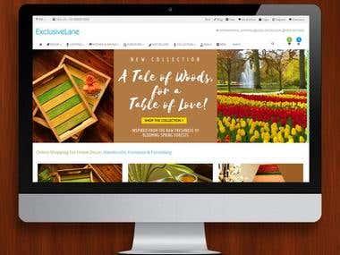 ExclusiveLane (eCommerce website)