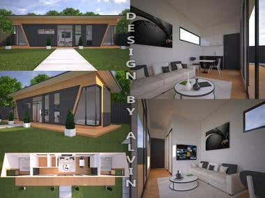 40 foot Container House Design