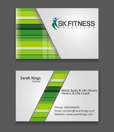 Sk Fitness Visiting Card