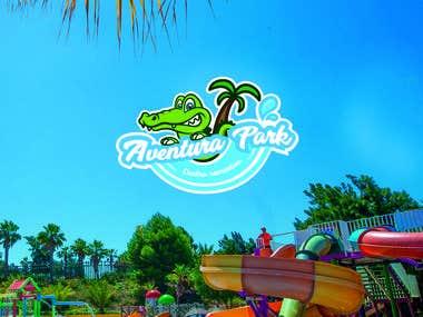 Aventura Park / Logotipo
