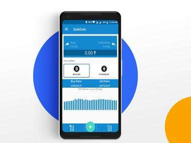 QuikCoin Android Application