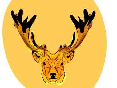 Character design - deer