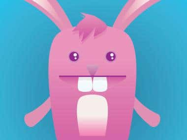 Character design - bunny