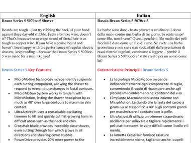 ITALIAN TRANSLATION,TRANSCRIPTION AND PROOFREADING SERVICES
