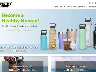 Shopify - Healthy Human Life