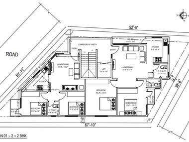 Floor Plan Designed - 1